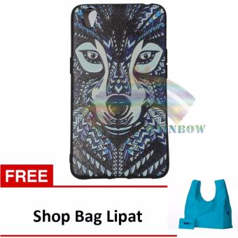 Harga Rainbow Soft Case Luxo Jungle Wild For Oppo Neo 9 A37 Softcase Macho Hewan Hutan / Case Luxo Rimba / TPU Case Silicone / Ultrathin / Softshell / Soft Case Lukisan / Case Unik / Casing Oppo -Wolf FREE Shop Bag Lipat