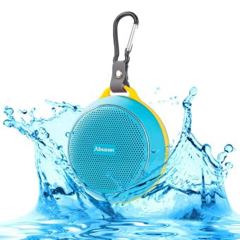 Harga Waterproof Bluetooth Speakers V4.1 HD Powerful Surround Sound Waterproof Shockproof Portable Sport Speaker Shower Bass with Amazing Music Audio Effect for iPhone iPad HTC and more - intl