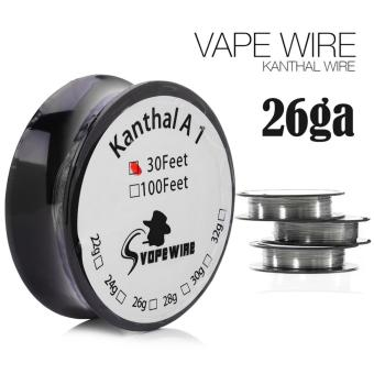 Harga Vape Wire Kawat Kanthal A1 KA1 26ga Vopewire 1 Roll 30 Feet / 10 Meter Authentic