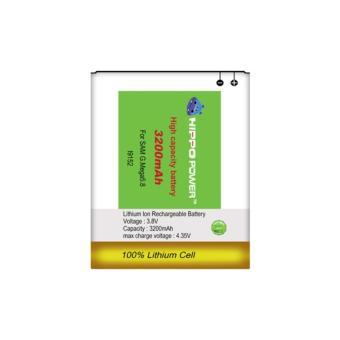 Hippo Baterai Double Power Samsung Galaxy Mega 58 3200 MAh