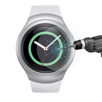 Harga HAT PRINCE for Samsung Gear S2 Tempered Glass Screen Film 0.2mm - intl