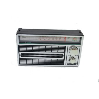 Harga Internasional Radio FM AM SW Portable F4250 - Silver