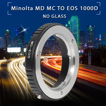 Harga Adapter Ring For Minolta MD Lens to Canon EOS 100D 600D 650D 700D No Glass