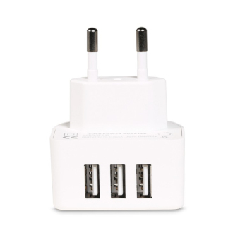 Harga Remax 3.1A 3 Ports USB Charger Moon