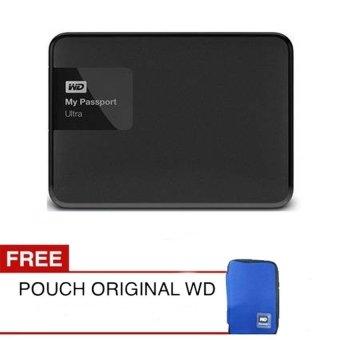 Jual Western Digital New Passport Ultra 2TB Premium Storage Hitam + Gratis Pouch Original WD Harga Termurah Rp 2200000.00. Beli Sekarang dan Dapatkan Diskonnya.