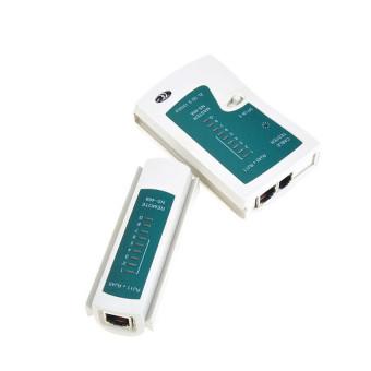 Penguji Kabel Jaringan Internet Kabel Keriting LAN RJ45 RJ11 CAT5 Analisis Alat Kit 5