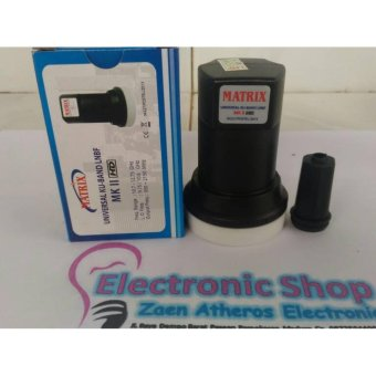 Harga LNB Ku Band Matrix MK II (Tanpa Holder)