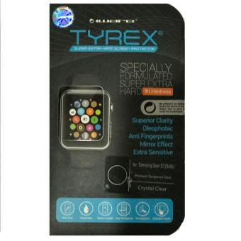 Harga Tyrex Tempered Glass Samsung Gear S3 (Solis) - Crystal Clear