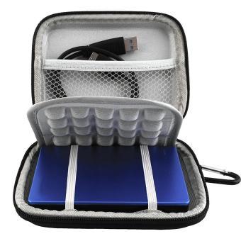 Jual EVA Shockproof Carrying Bag Waterproof Hard Travel Case Pouch Bag for Portable External Hard Drive, GPS Camera(Black) - intl Harga Termurah Rp 514196.00. Beli Sekarang dan Dapatkan Diskonnya.