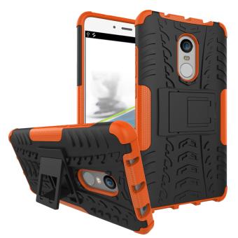 Anti-slip PC + TPU Hybrid Phone Case with Kickstand for Xiaomi Redmi Note 4