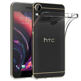 Harga Ultra Slim Case for HTC Desire 10 Pro Soft TPU Transparent Protector Cover - intl