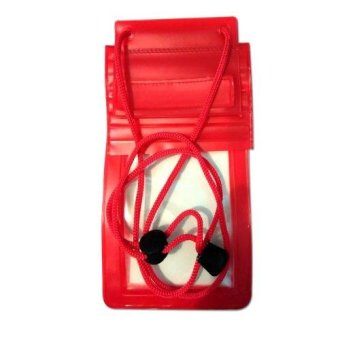 Harga Waterproof Bag Lock System for Smartphone - Case Anti Air - Red