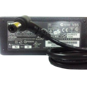Toshiba Adaptor Original Output 19v 3.42A - Hitam