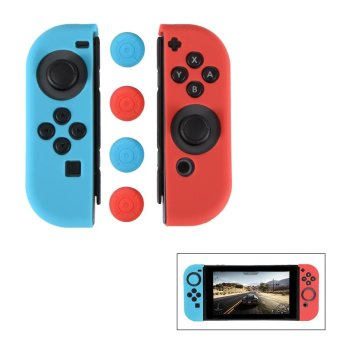 Harga XCSOURCE Joy-Con Controller Game Soft Silicone Case Cover Skins for Nintendo Switch AC735 - intl