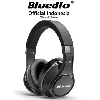 Harga Bluedio Ufo Premium Wireless Bluetooth Headset High End Headphones with Mic - Hitam