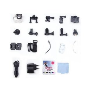 Kogan Action Camera 1080p - 12MP NV - WIFI - Hitam -Free Baterai Kogan - 3