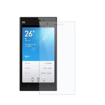 Tempered Glass Xiaomi Mi 3 Ultra Sreen Protector - Putih Transparant