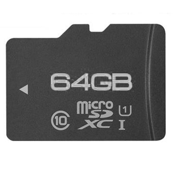 Harga Memory Card 64G SDHC SDXC U3 Micro SD Class 10 Flash Microsd Card for Smartphones Mp3 Tablet and Camera - intl