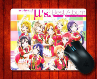 Harga MousePad Love Live for Mouse mat 240*200*3mm Gaming Mice Pad - intl