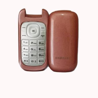 Harga Casing Full Cover Samsung Caramel E1272 Full Set - ROSE GOLD