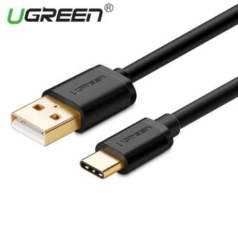 UGREEN USB untuk Type C sinkronisasi Data kabel Charger (1,5 m) hitam - International ...