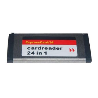 Harga Express Card 34 CardReader 24 in 1 Multi Card Reader