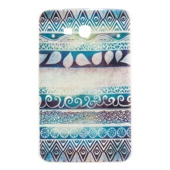 Harga TPU National Style Drawing Pattern Protective Case for Samsung Galaxy Tab 3 Lite 7.0 / T111 (Multicolor)