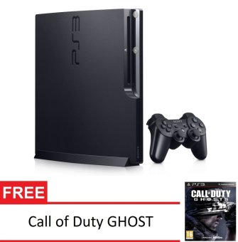 Harga SONY PS3 Playstation 3 Slim 160GB + Gratis Game Call of Duty Ghost
