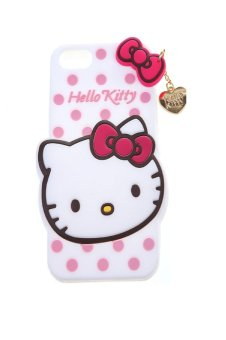 Harga Fancy Apple Hello Kitty Case Iphone5 Putih
