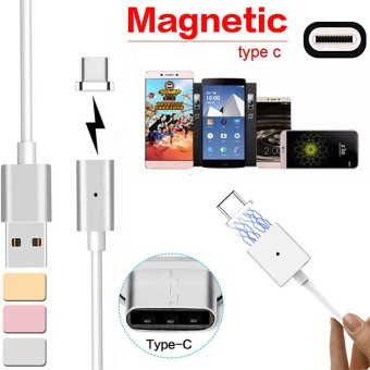 Magnetic USB Charger Cord Sync Data Cable Type-C For Android Gold - intl