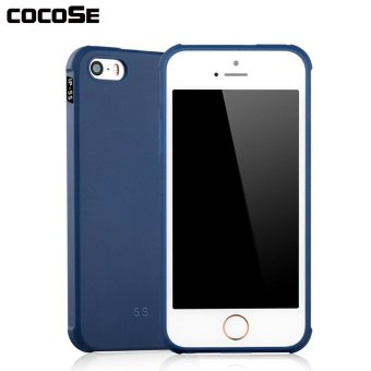 COCOSE Phone Case Solid Color Soft Silicone TPU Back Cover Shockproof Phone Shell .