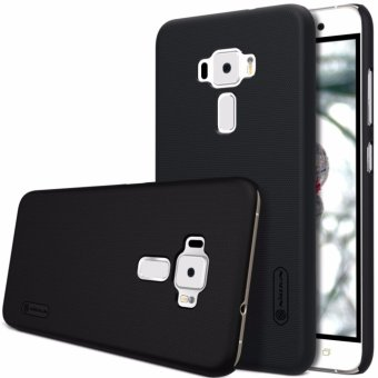 Nillkin Frosted case ASUS Zenfone 3 ZF3 (ZE520KL) - Hitam + free screen protector