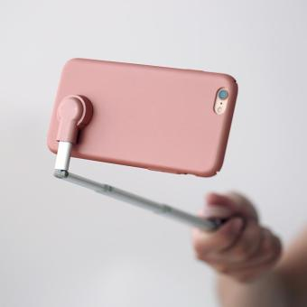 Detail Gambar YBC 3 in 1 Phone Case + Bluetooth Aluminum Selfie Sticks + Holder Stand