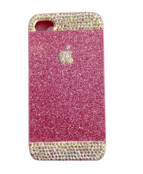 Harga Paroparoshop Dazzling Softcase For Iphone 4/4S - Pink