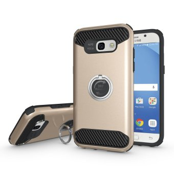 Metal Ring Holder PC + TPU Hybrid Kickstand Cover Case for Samsung Galaxy A5 (2017