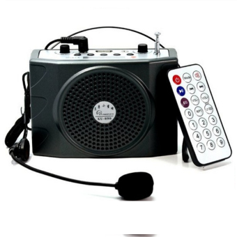 Harga Loudspeaker with Microphone Voice Amplifier Booster Megaphone Speaker For Teaching Tour Guide Sales Promotion - intl