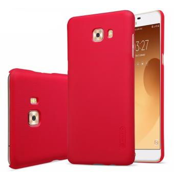 Nillkin For Samsung Galaxy C9 Pro Super Frosted Shield Hard Case Original Merah .