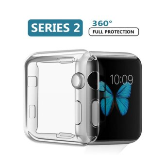 Harga Apple Watch 2 Case,iphone Watch Hard Screen Protector Ultra Thin All-around Cover For New i Watch Series 2 (42mm) - intl