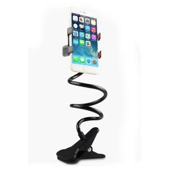 Aimons Universal Flexible 360 Stand Lazy Holder Lazy Pod Jepit Narsis Jepsis Hitam