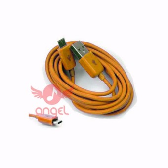 Harga Angel Candy Colour Cable Blackberry 1m Type 02 - Micro USB - Orange