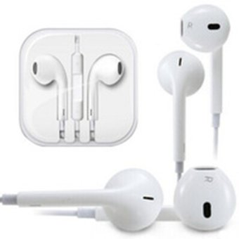 Harga Apple Handsfree Earphone iPhone 5/5c/5s - Putih