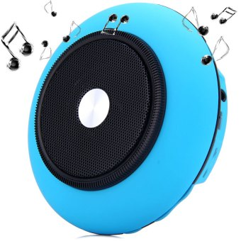 Harga iUFO-001 Handy UFO Wireless Bluetooth Speaker (Blue)