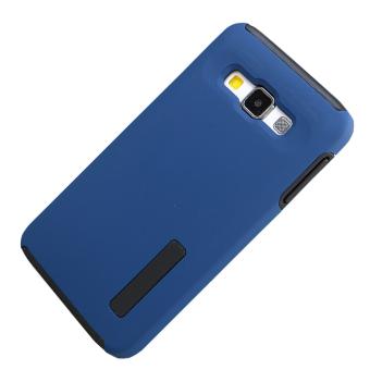 RUILEAN TPU/Silicone Dual Layer Hybrid Kickstand Case for Samsung Galaxy E5 .