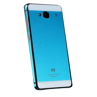 Case Aluminium Tempered Glass Hard Case for Xiaomi Redmi 2 / Redmi 2 Prime - Blue