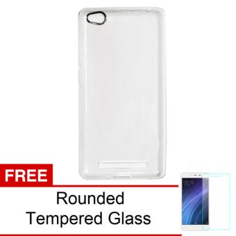 Case For Xiaomi Redmi 4a Ultrahin Air Case Series - Clear + Free Rounded Tempered Glass