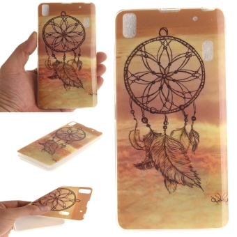 Aimi Leather Case Sarung Untuk Vivo Y15 Flipshellflipcover Hijau Source · Fit Soft TPU Phone Back Case Cover For Lenovo K3 Note A7000 Dream Catcher