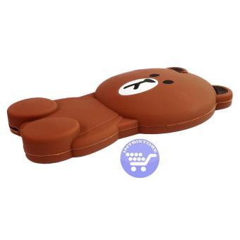 ... Intristore Line Brown 2 Soft SIlicon Phone Case Vivo V5 3