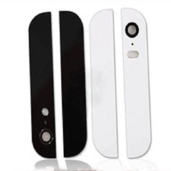 For Apple iPhone 5 Top and Bottom Glass Cover – White - Intl