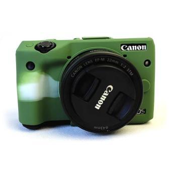 Soft Silicone Rubber Camera Case Protective Bag Skin Cover for Canon EOS M3 Camera case (Green) - intl, 142.800, Update. Soft Silicone Rubber Camera Case ...