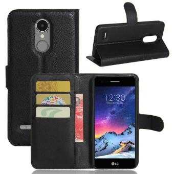 Harga BYT Leather Flip Cover Case for LG V3 / LG K4 (2017) / LG K8 (2017) - intl